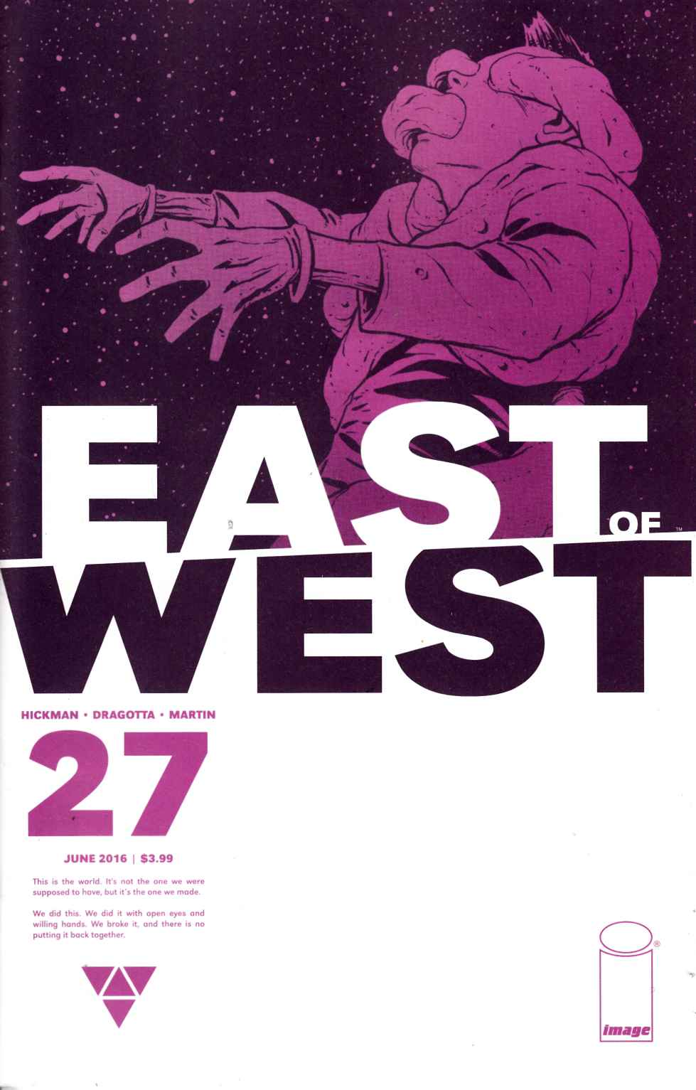 East of West #27 [Image Comic] LARGE