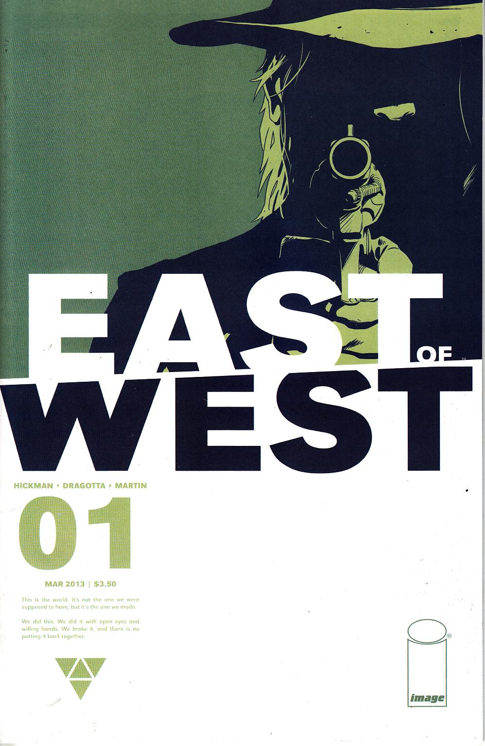 East of West #1 [Image Comic] THUMBNAIL
