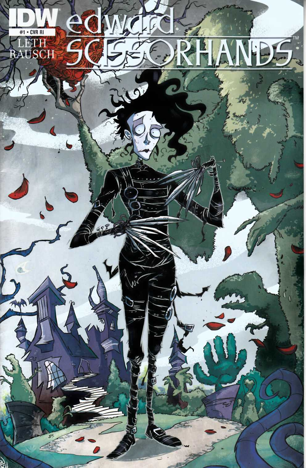 Edward Scissorhands #1 Cover RI [Comic]