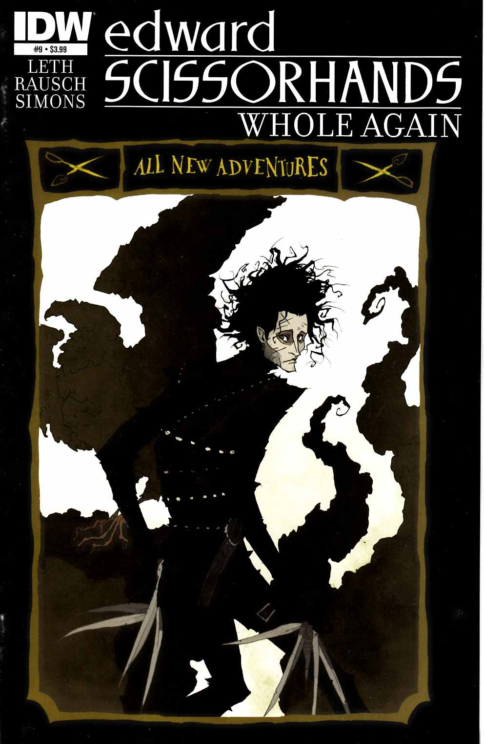Edward Scissorhands #9 [IDW Comic] THUMBNAIL