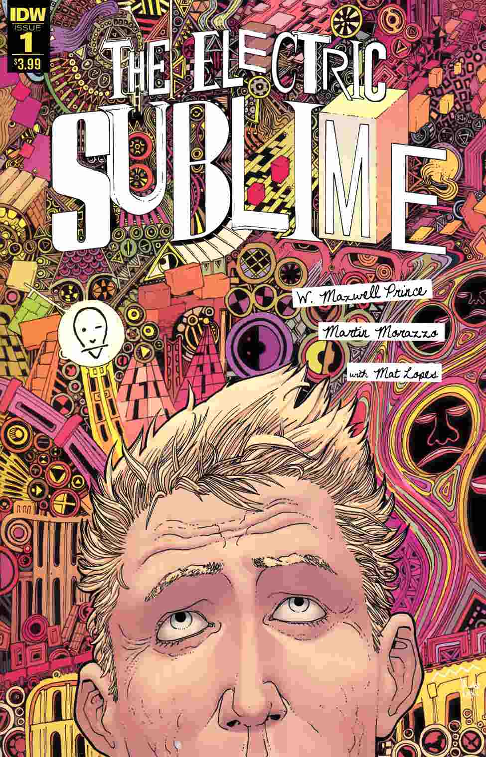 Electric Sublime #1 [IDW Comic]