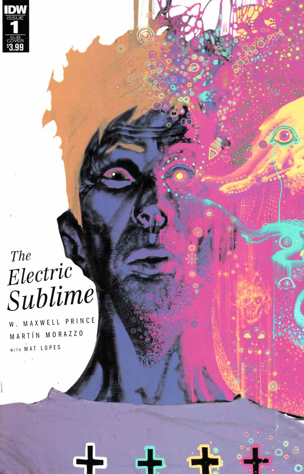 Electric Sublime #1 Subscription Cover [IDW Comic]