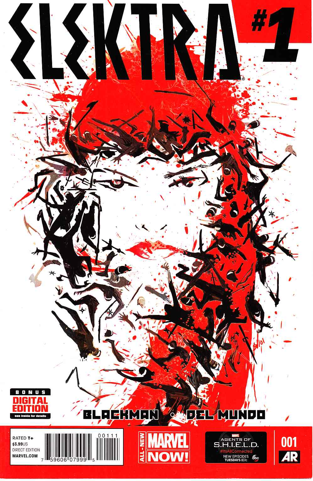 Elektra #1 [Marvel Comic] THUMBNAIL