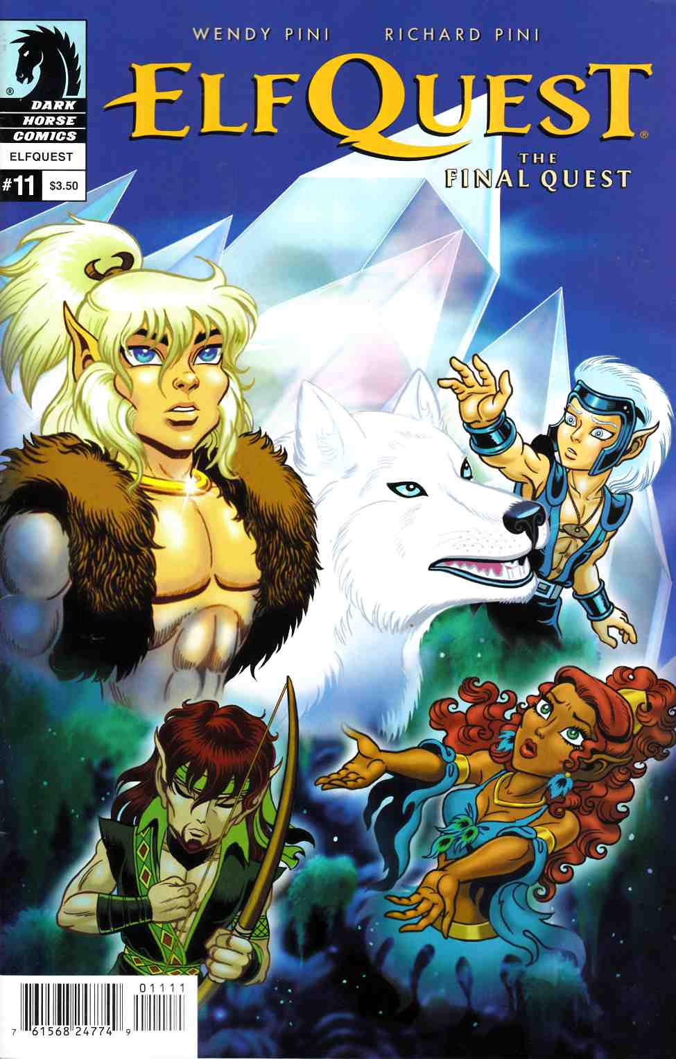 Elfquest Final Quest #11 [Dark Horse Comic]