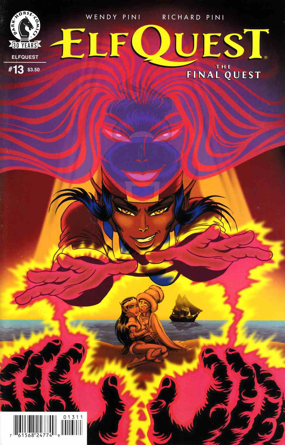 Elfquest Final Quest #13 [Dark Horse Comic]