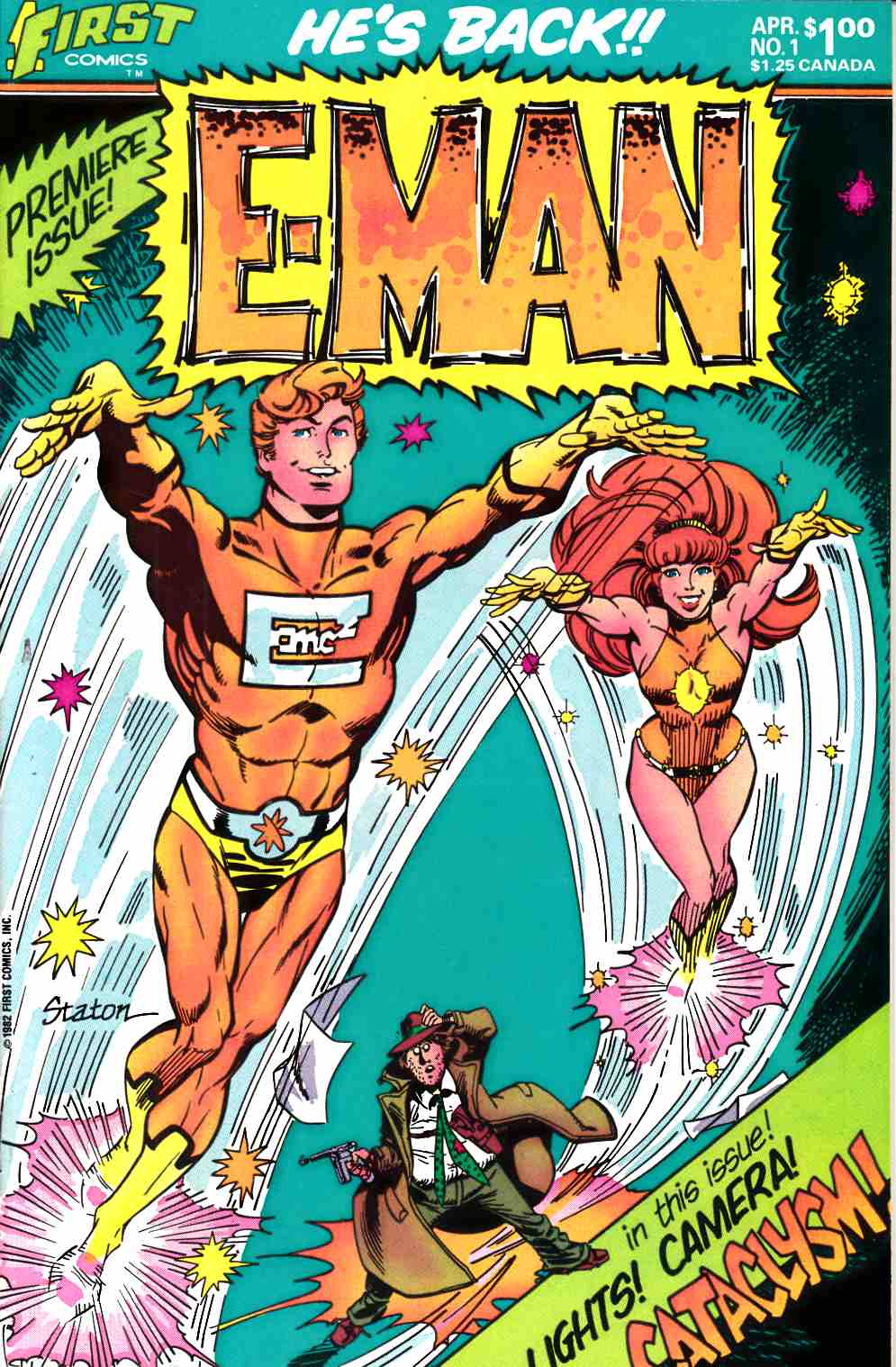E-Man #1 Very Fine/Near Mint (9.0) [First Comic] THUMBNAIL