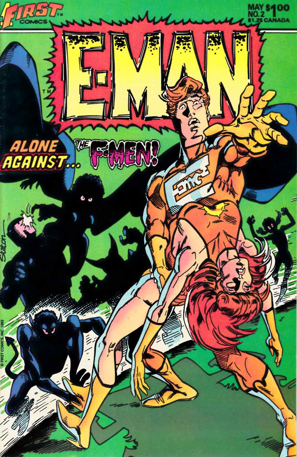 E-Man #2 Very Fine/Near Mint (9.0) [First Comic] THUMBNAIL