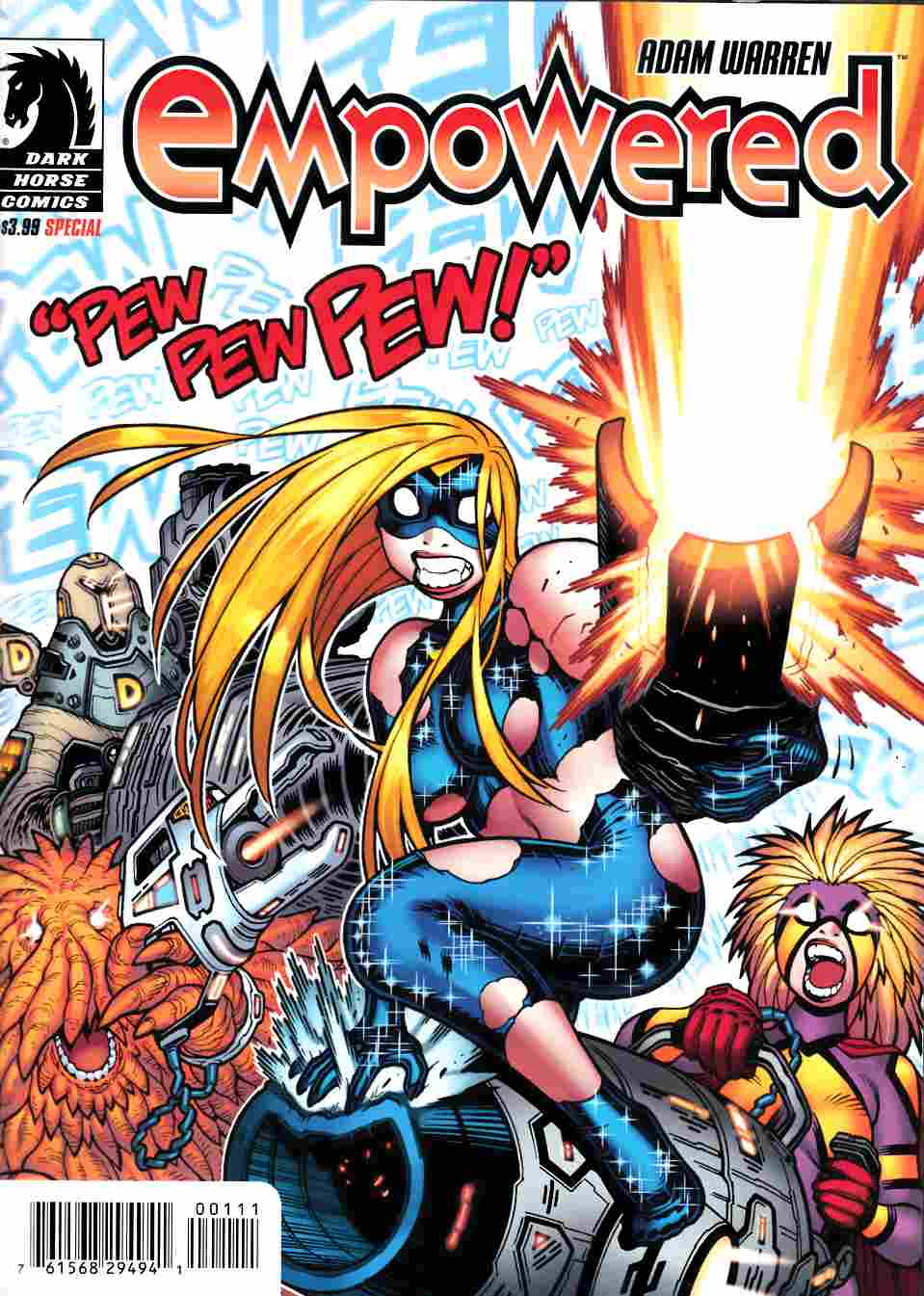Empowered Special #7 Pew Pew Pew [Dark Horse Comic] LARGE