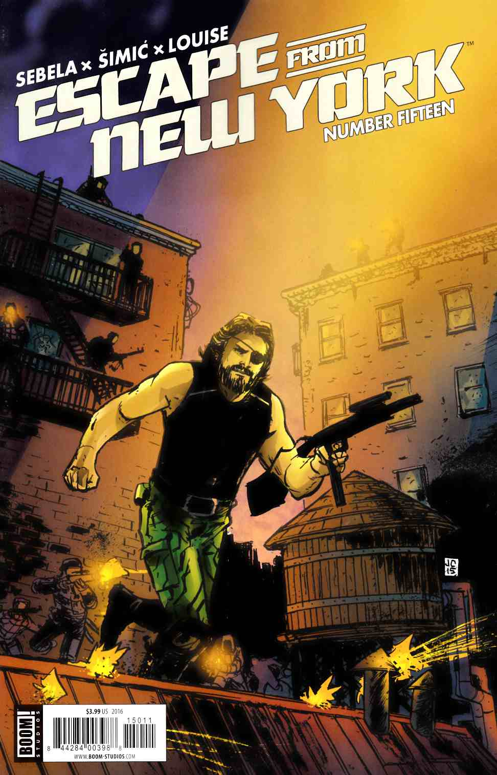 Escape From New York #15 [Boom Comic] LARGE