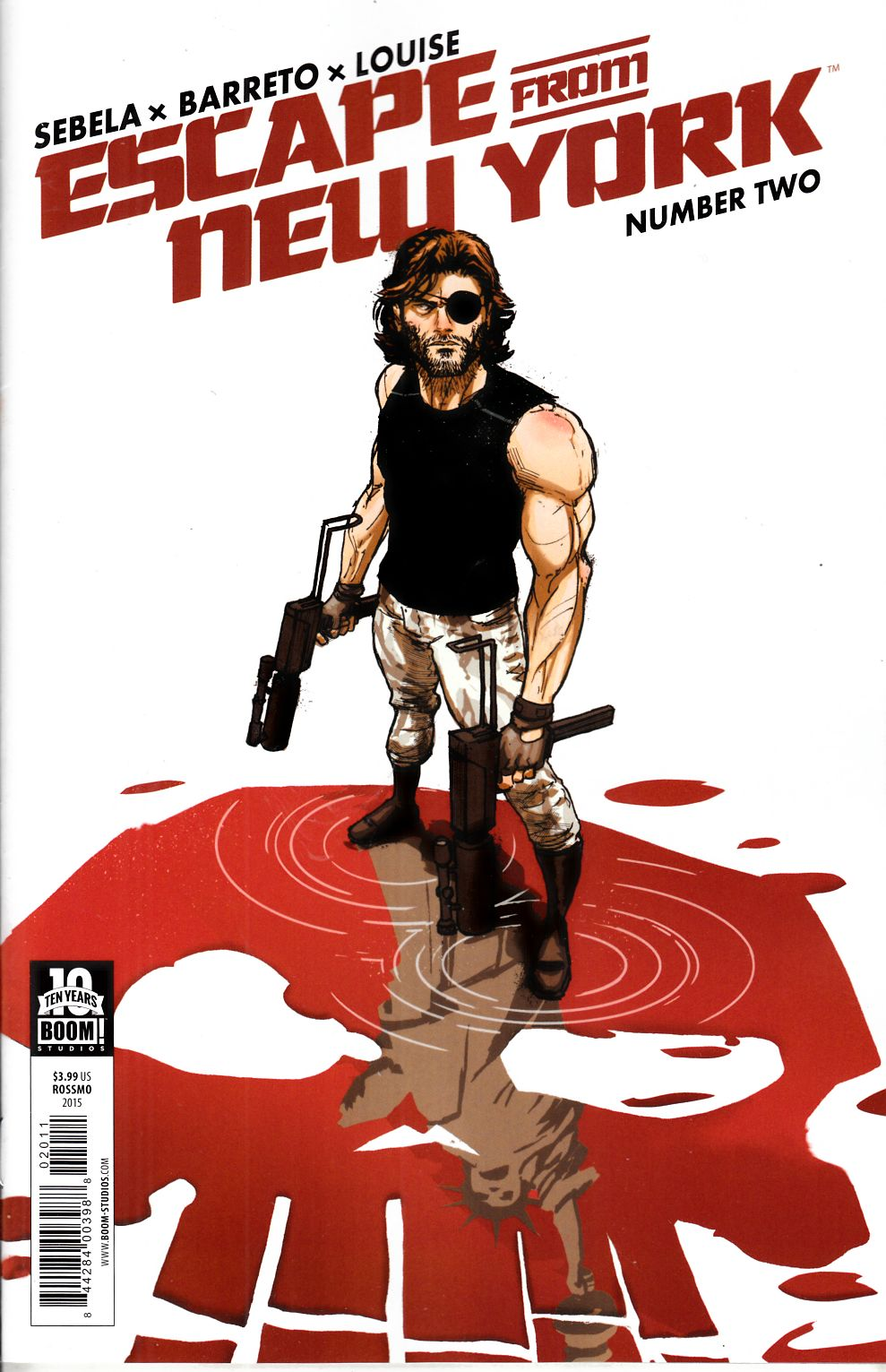 Escape From New York #2 Cover B [Boom Comic]