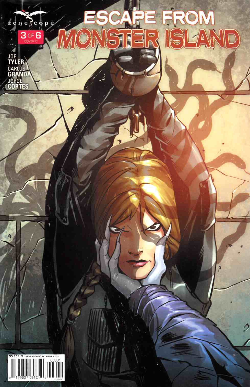 GFT Escape From Monster Island #3 Cover C [Zenescope Comic] THUMBNAIL