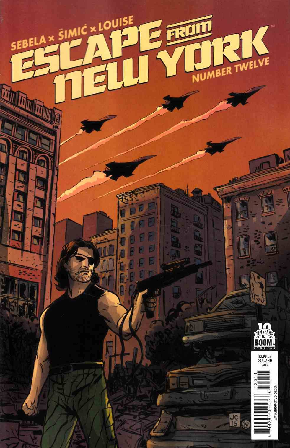 Escape From New York #12 [Boom Comic]