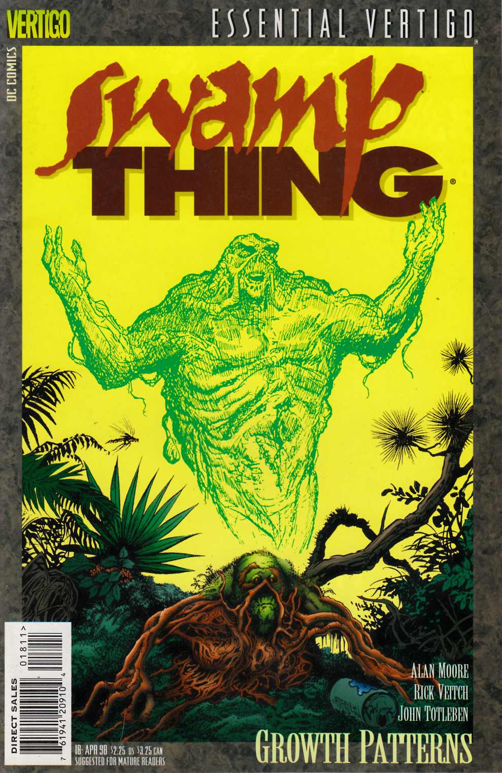 Essential Vertigo Swamp Thing #18 Very Fine (8.0) [DC Comic]_THUMBNAIL