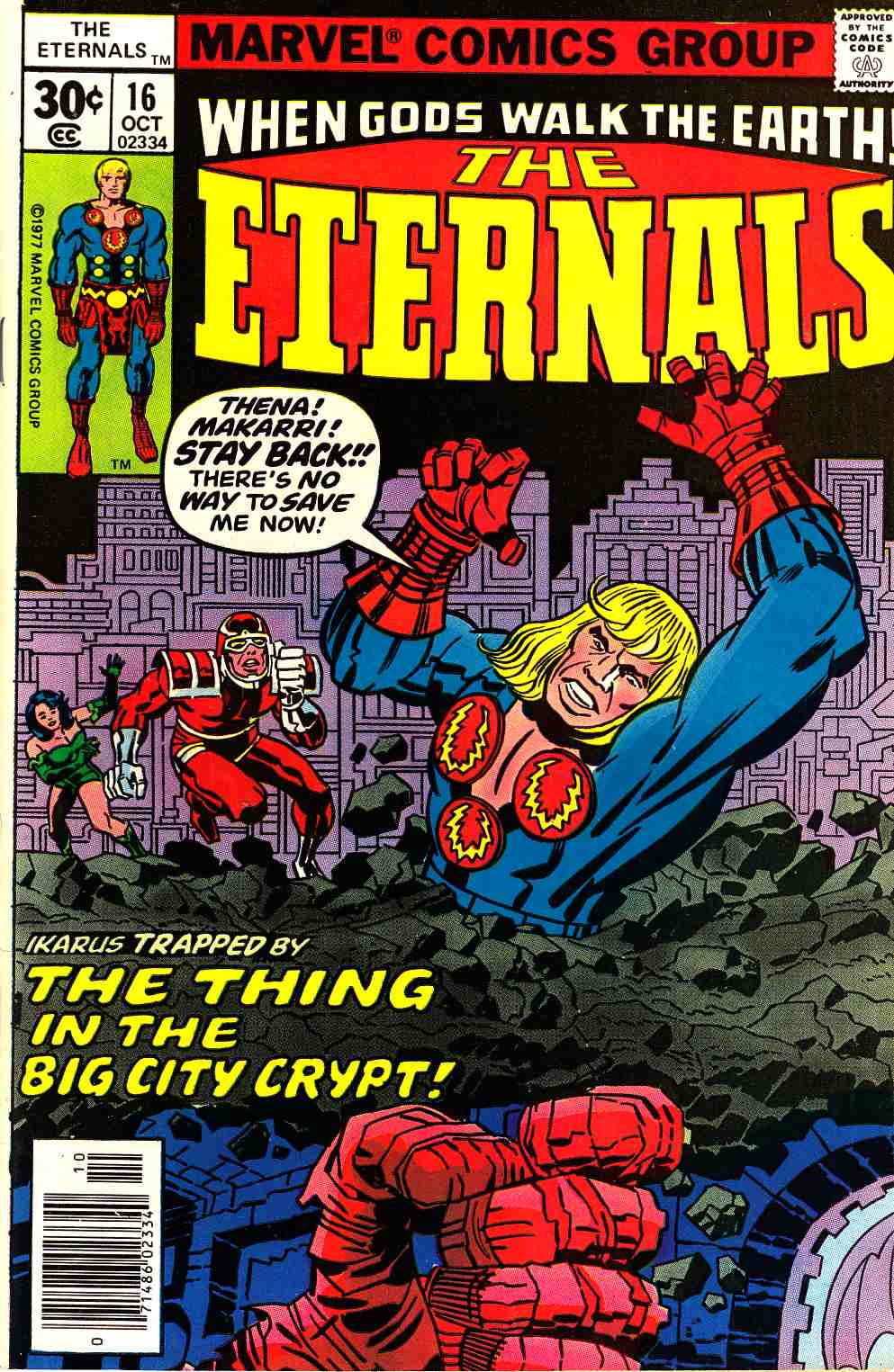 The Eternals #16 Very Fine (8.0) [Marvel Comic]_THUMBNAIL