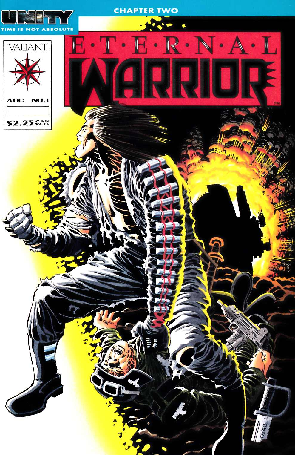 Eternal Warrior #1 Very Fine (8.0) [Valiant Comic] LARGE
