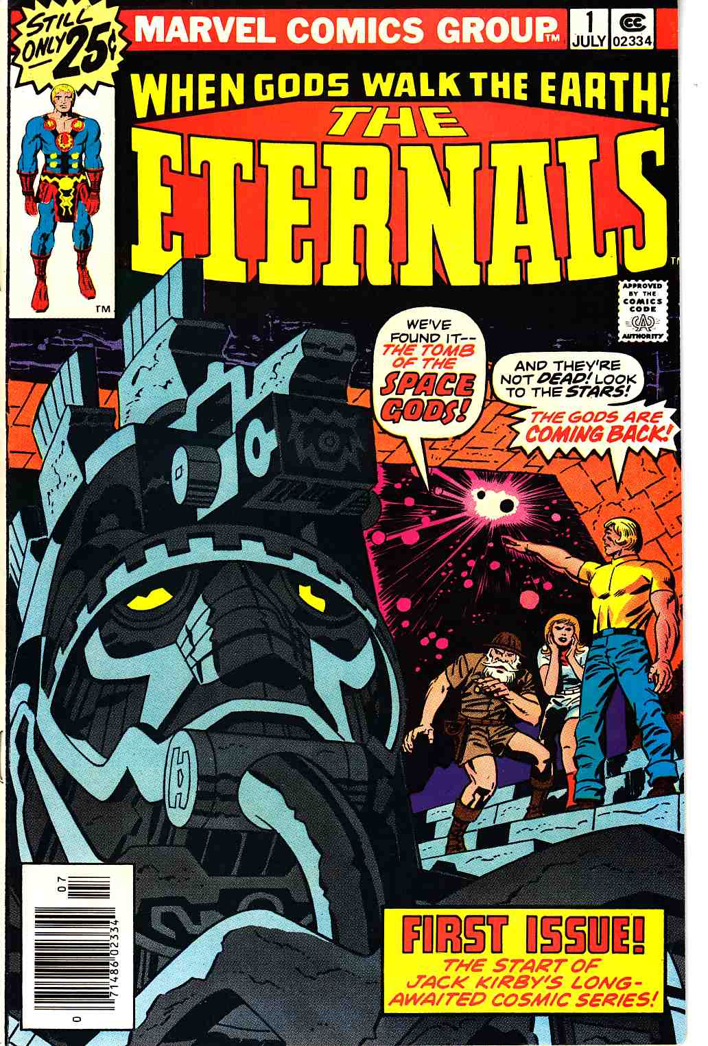 The Eternals #1 Very Fine (8.0) [Marvel Comic]_THUMBNAIL