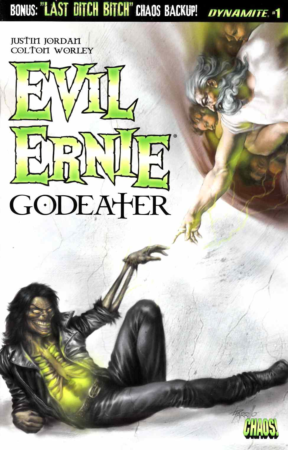 Evil Ernie Godeater #1 Cover A [Dynamite Comic]