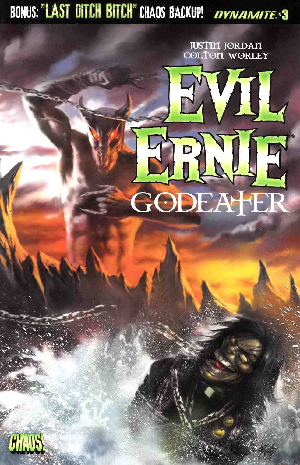 Evil Ernie Godeater #3 Cover A [Dynamite Comic]