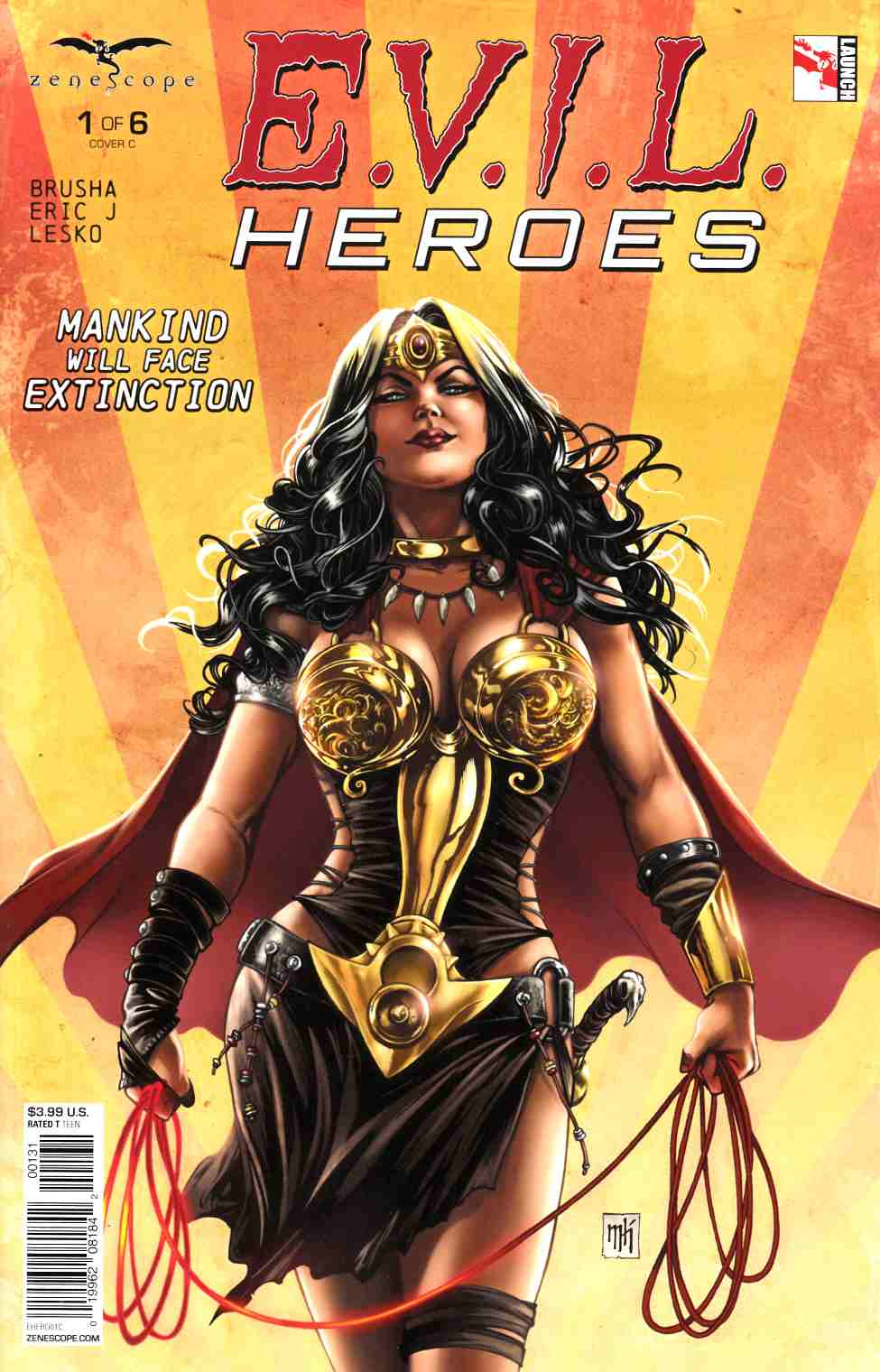 Evil Heroes #1 Cover C [Zenescope Comic] THUMBNAIL
