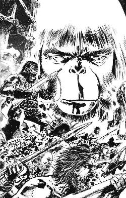 Exile On The Planet Of The Apes #3 Cover C- Hardman Sketch Incentive [Comic] LARGE