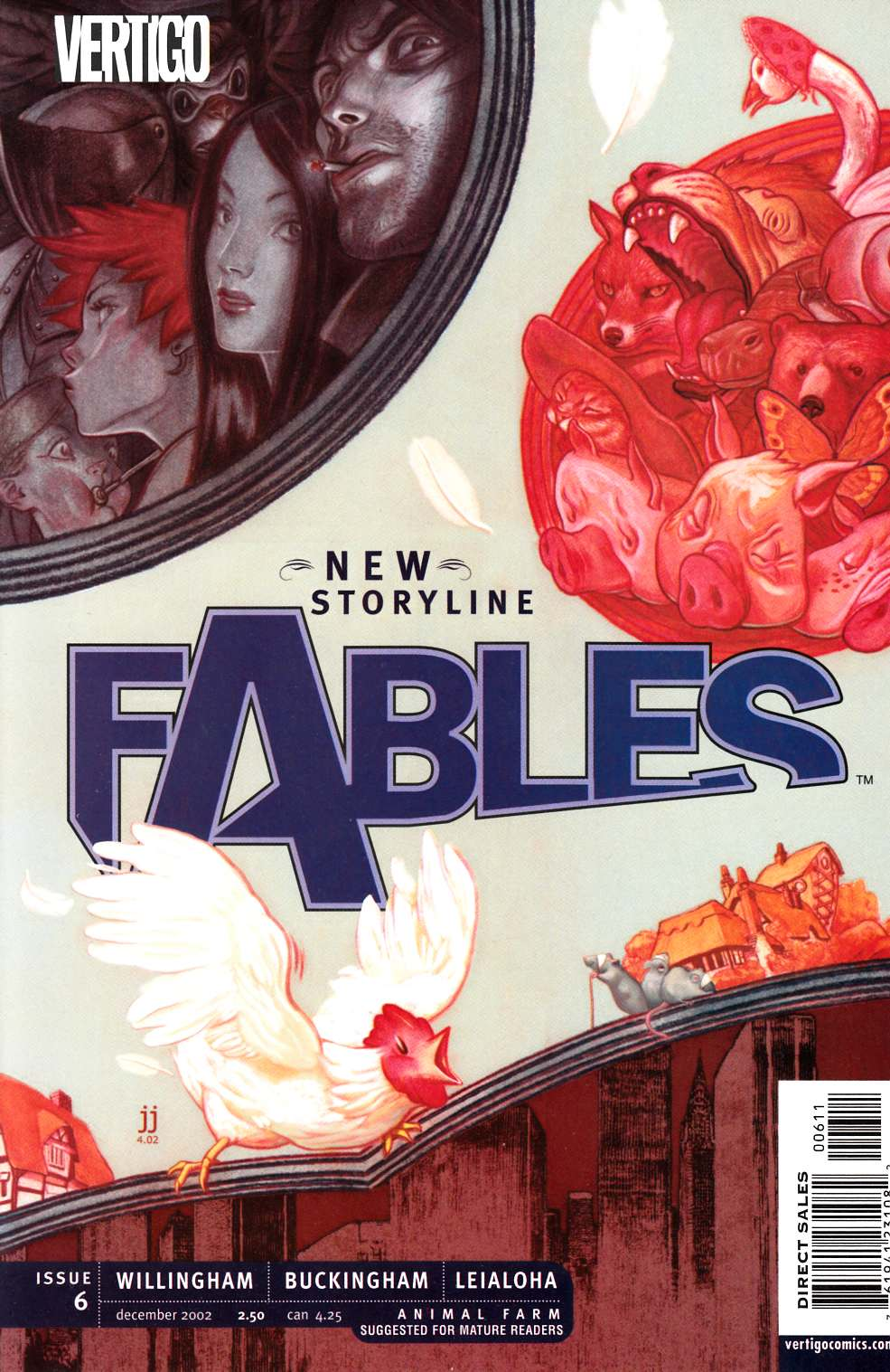 Fables #6 [DC Comic] LARGE