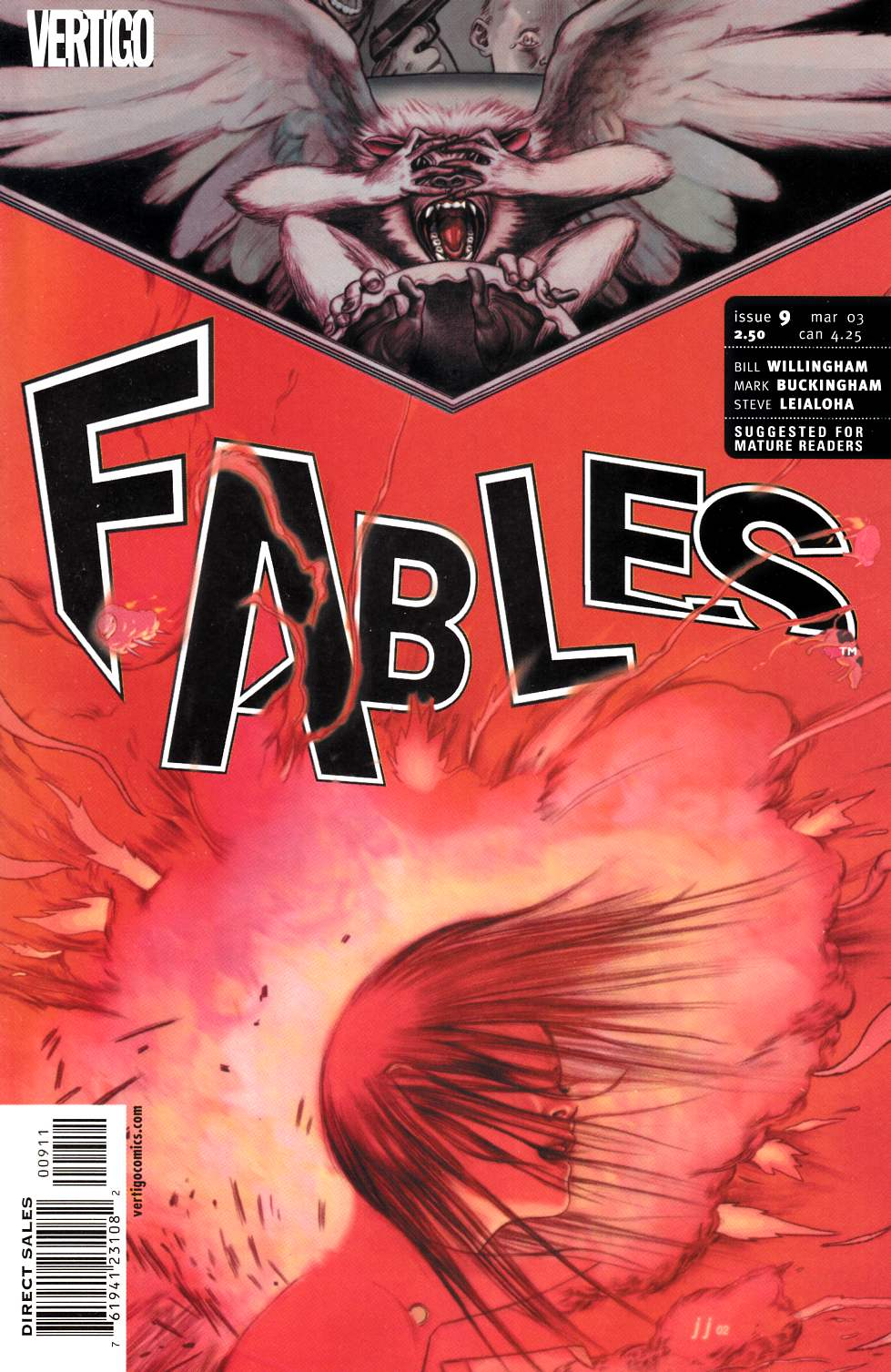 Fables #9 [DC Comic] LARGE