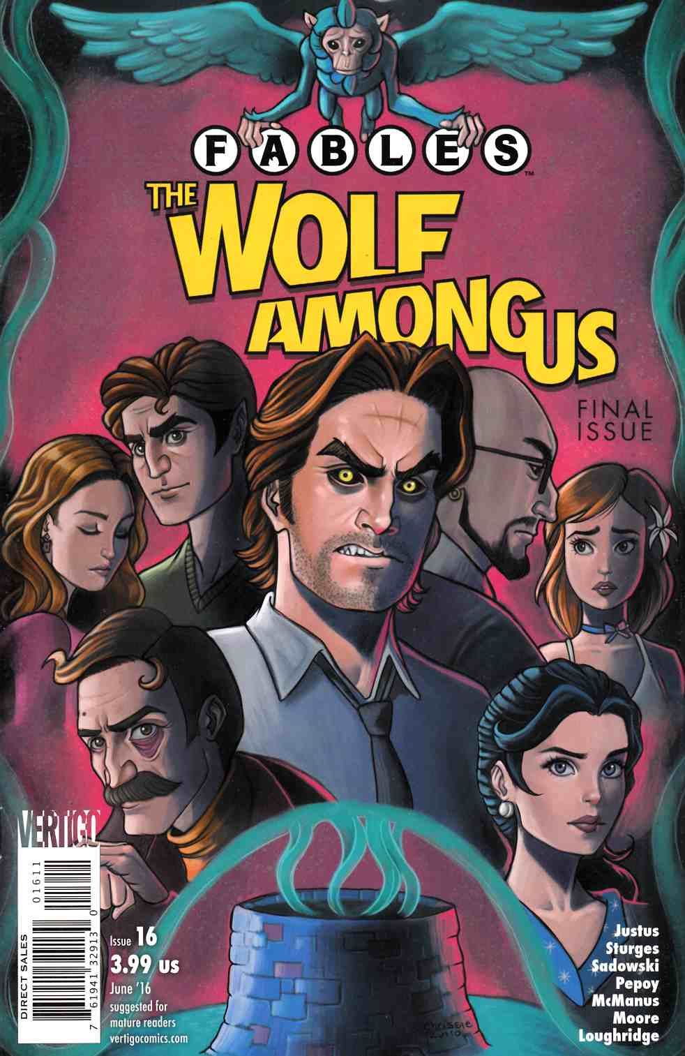 Fables the Wolf Among Us #16 [DC Comic] LARGE