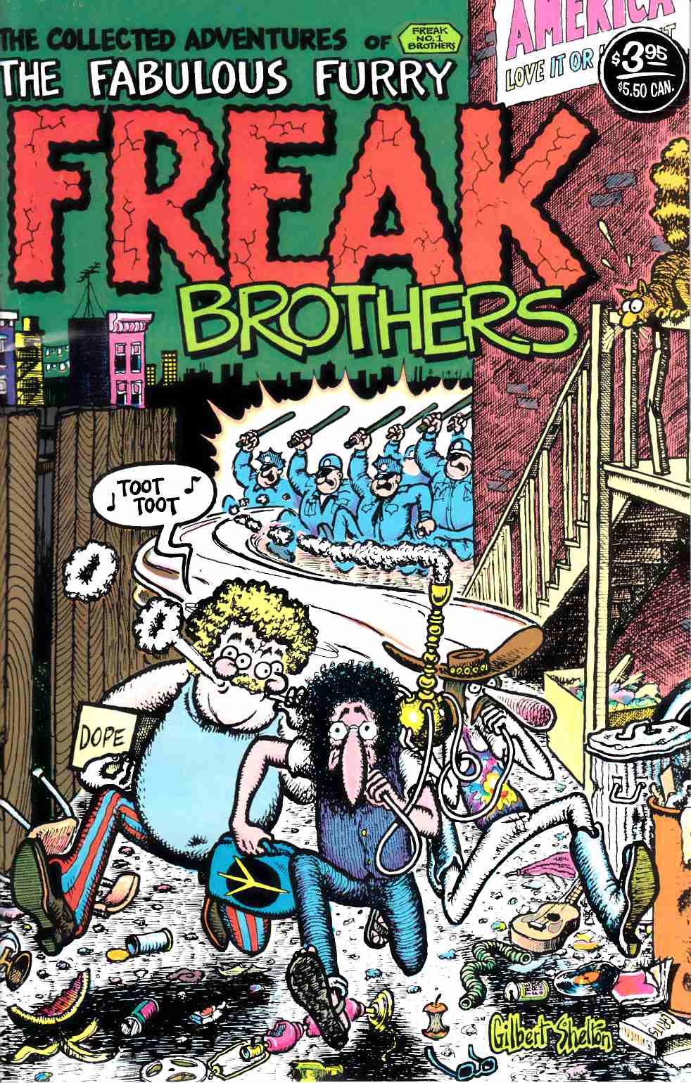 Fabulous Furry Freak Brothers #1 20th Printing Fine (6.0) [Rip Off Press Comic] THUMBNAIL
