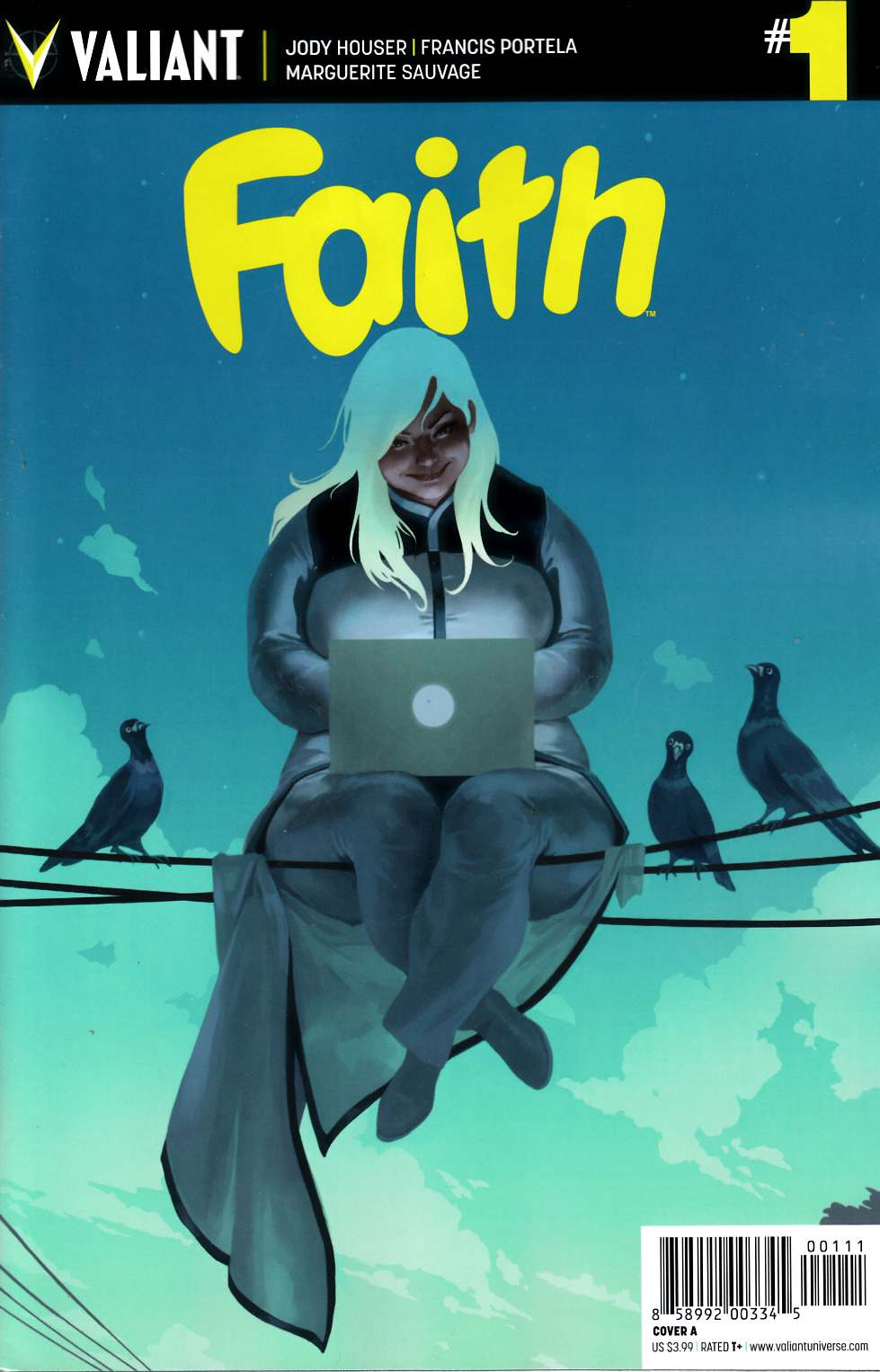 Faith #1 Cover A- Kevic-Djurdjevic [Valiant Comic] THUMBNAIL