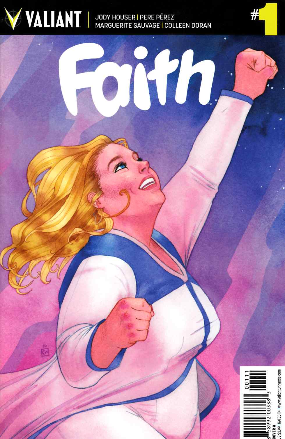 Faith (Ongoing) #1 Cover A [Valiant Comic]
