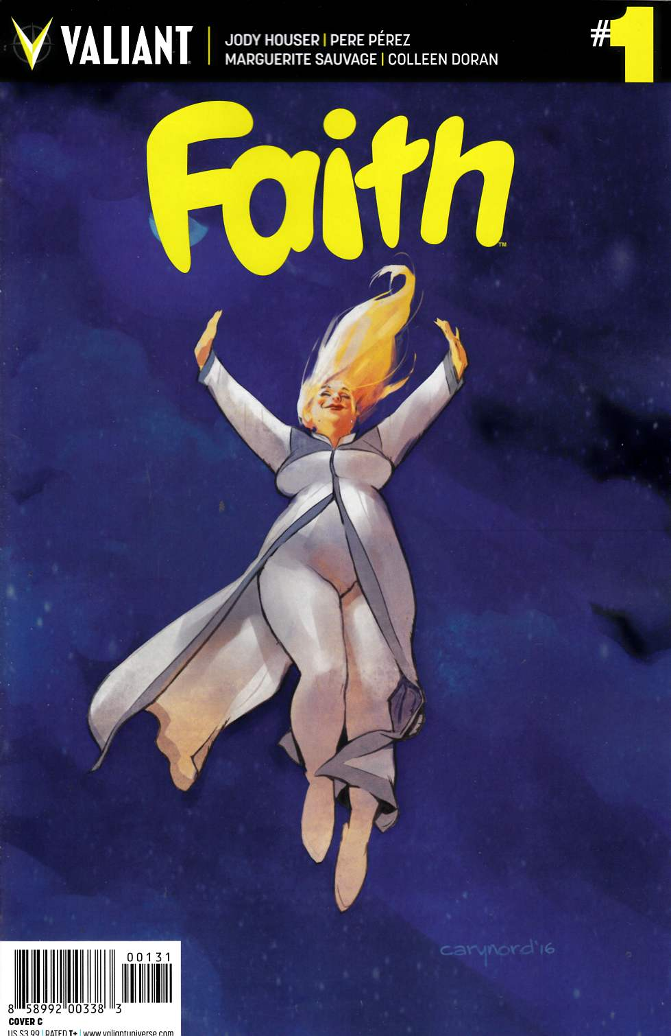 Faith (Ongoing) #1 Cover C [Valiant Comic] LARGE