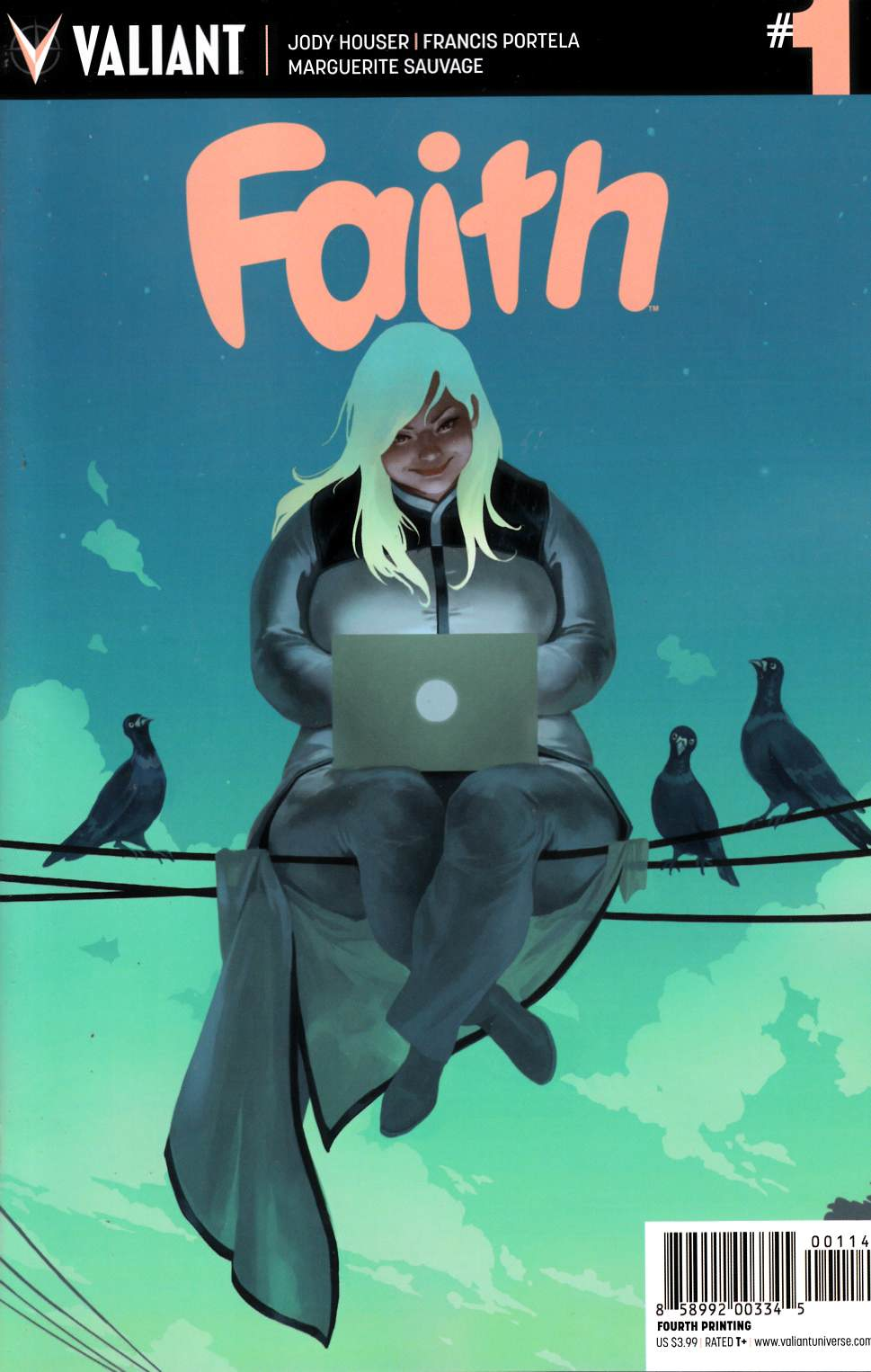 Faith #1 Fourth Printing [Valiant Comic] THUMBNAIL