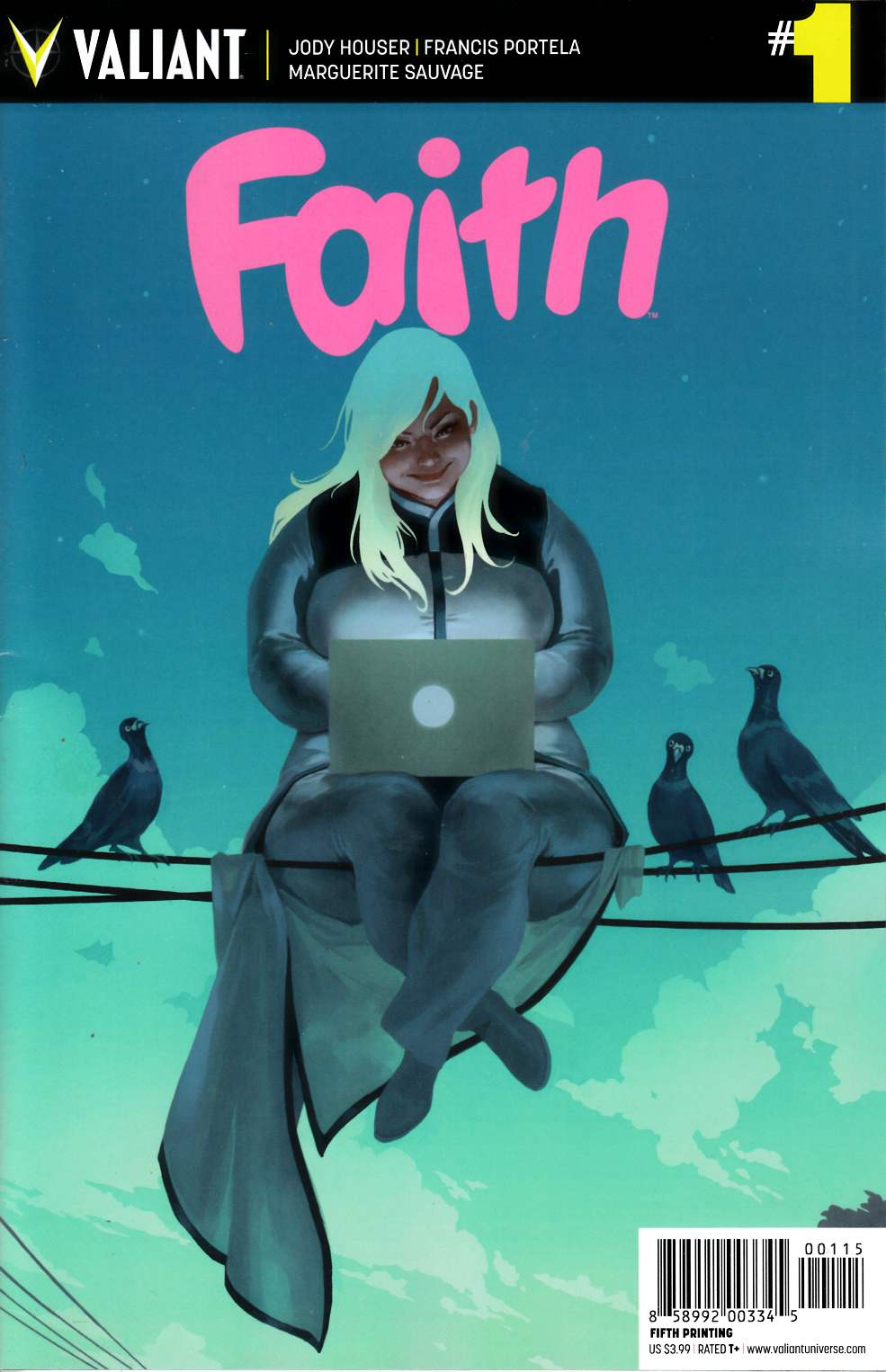 Faith #1 Fifth Printing [Valiant Comic] THUMBNAIL