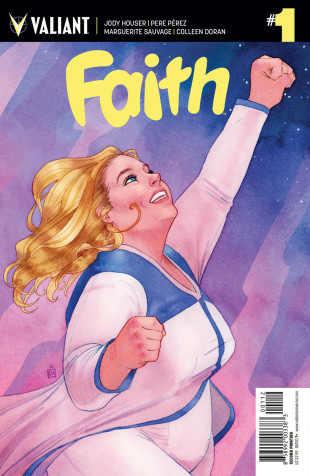 Faith (Ongoing) #1 Second Printing [Valiant Comic] THUMBNAIL