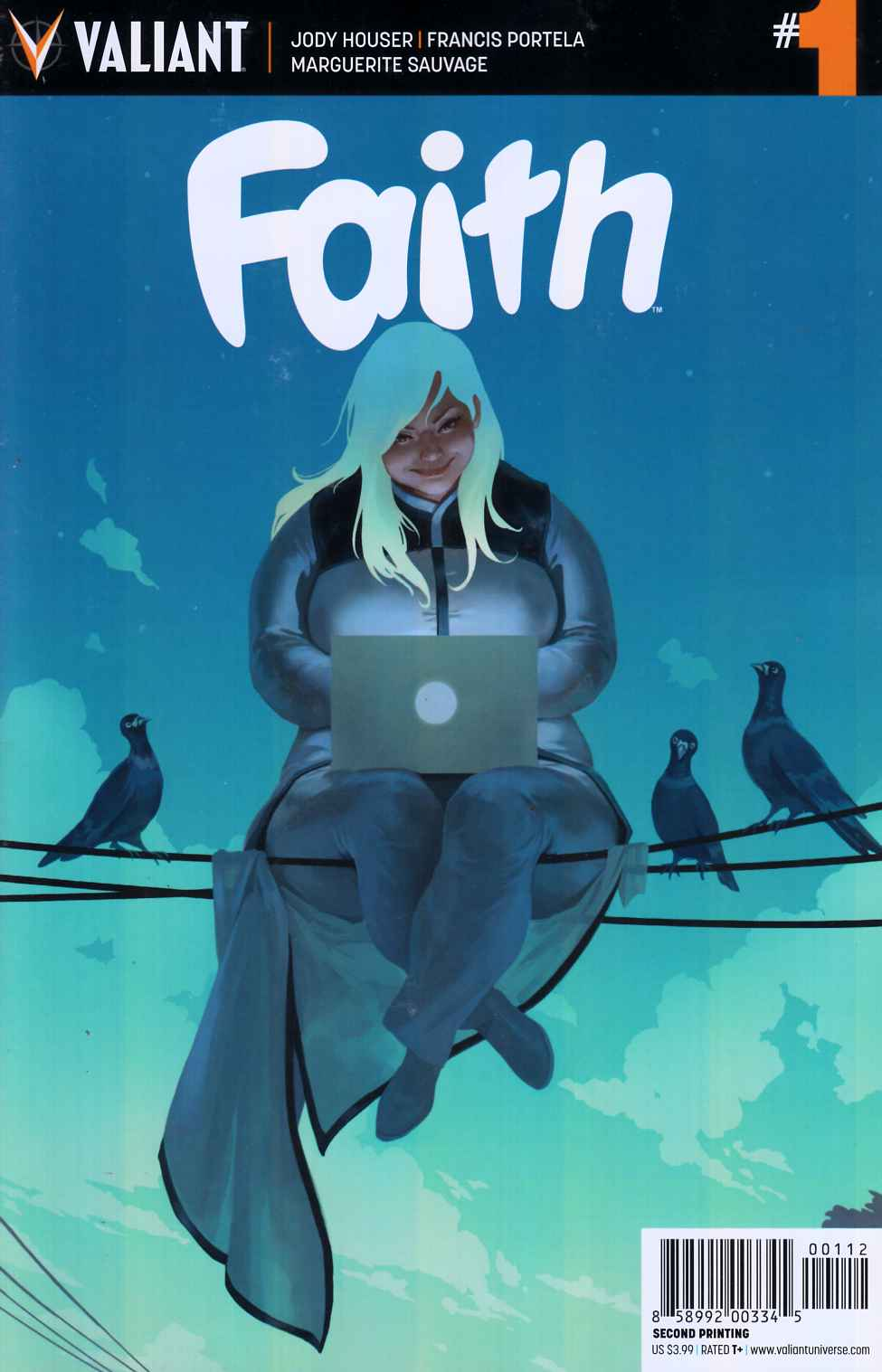 Faith #1 Second Printing [Valiant Comic] THUMBNAIL