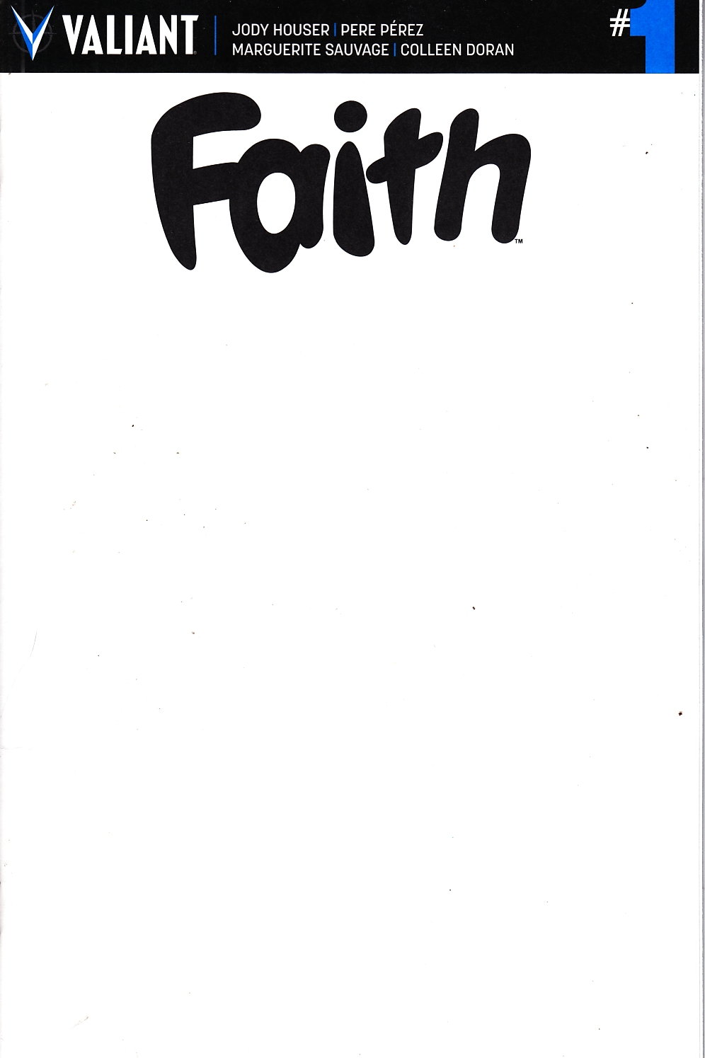 Faith (Ongoing) #1 Cover G [Valiant Comic] THUMBNAIL