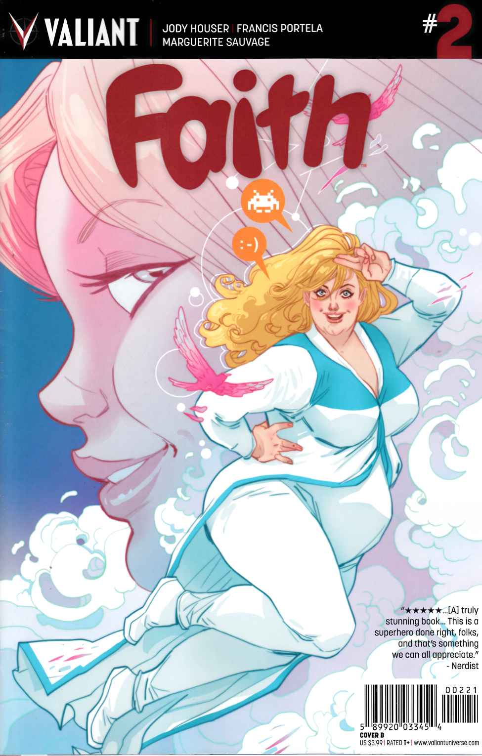 Faith #2 Cover B- Sauvage [Valiant Comic] THUMBNAIL