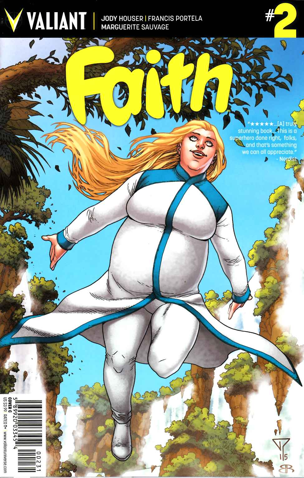 Faith #2 Cover C- Portela [Valiant Comic] THUMBNAIL