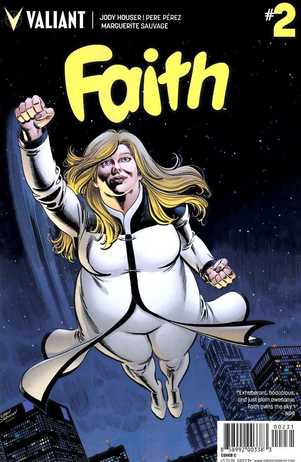 Faith (Ongoing) #2 Cover C [Valiant Comic] LARGE