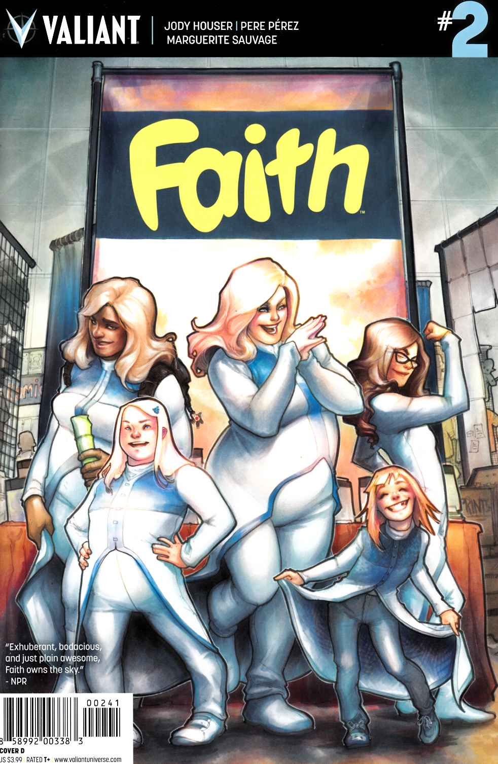 Faith (Ongoing) #2 Cover D [Valiant Comic] THUMBNAIL