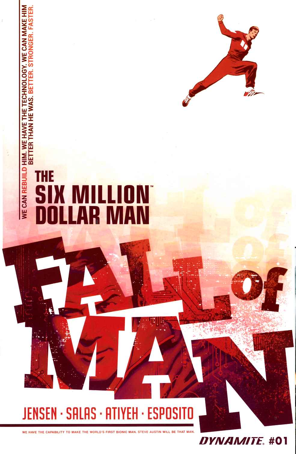 Six Million Dollar Man Fall #1 [Dynamite Comic] THUMBNAIL
