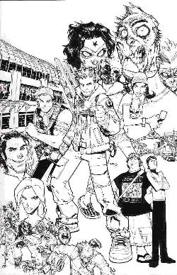 Fanboys vs Zombies #1 Cover G- Ramos Sketch Incentive [Comic] LARGE