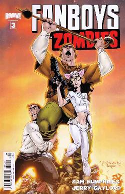 Fanboys vs Zombies #3 Cover B- Randolph [Comic] LARGE