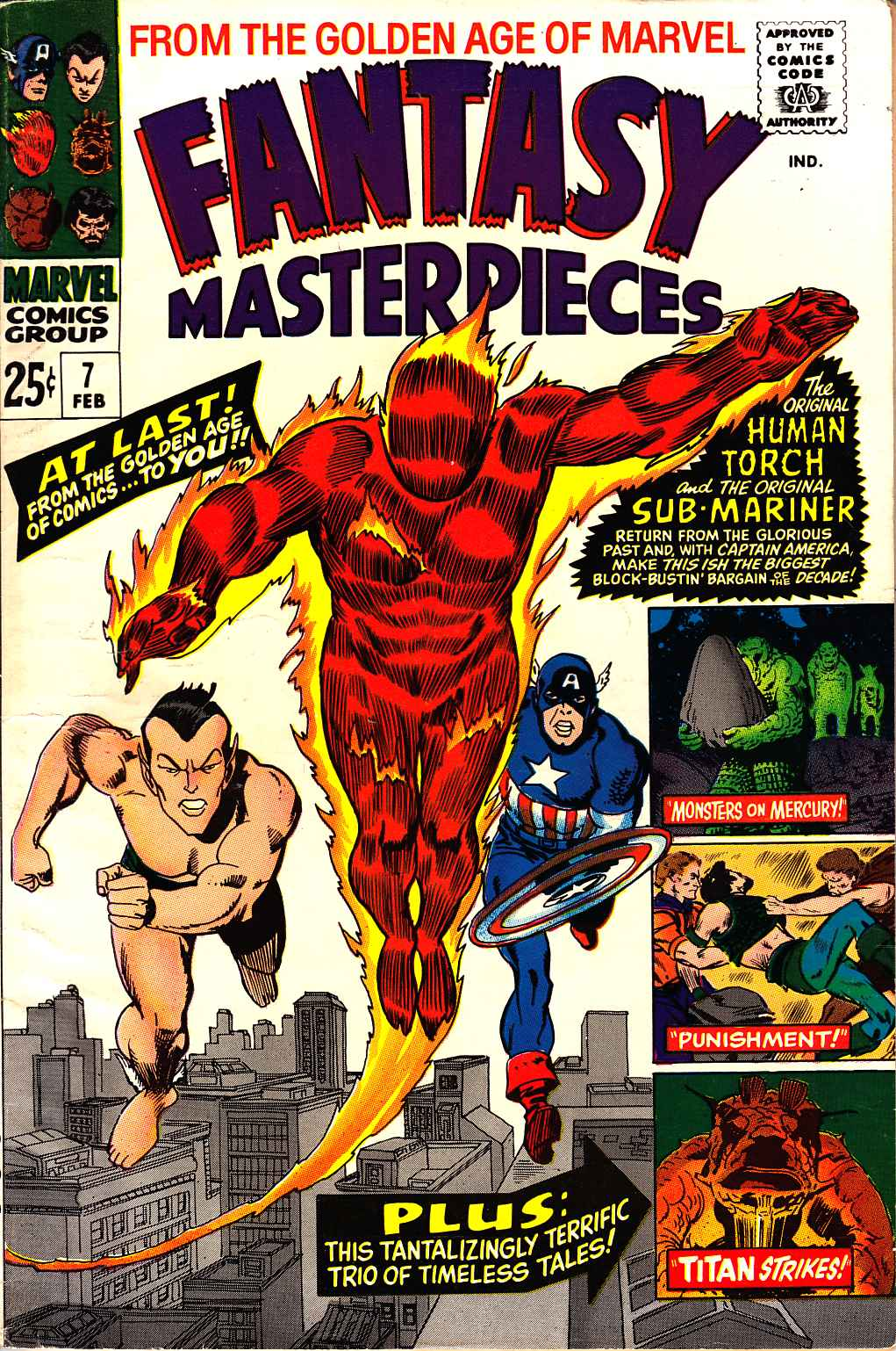 Fantasy Masterpieces #7 [Marvel Comic] LARGE