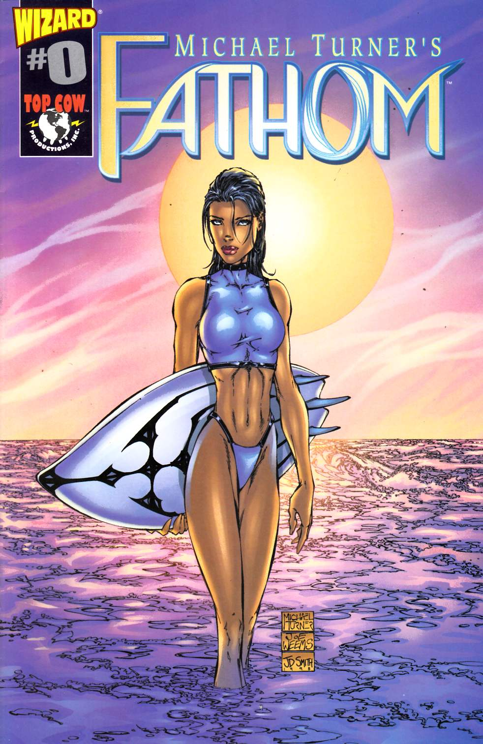 Fathom #0 Wizard Edition Very Fine (8.0) [Image Comic] THUMBNAIL
