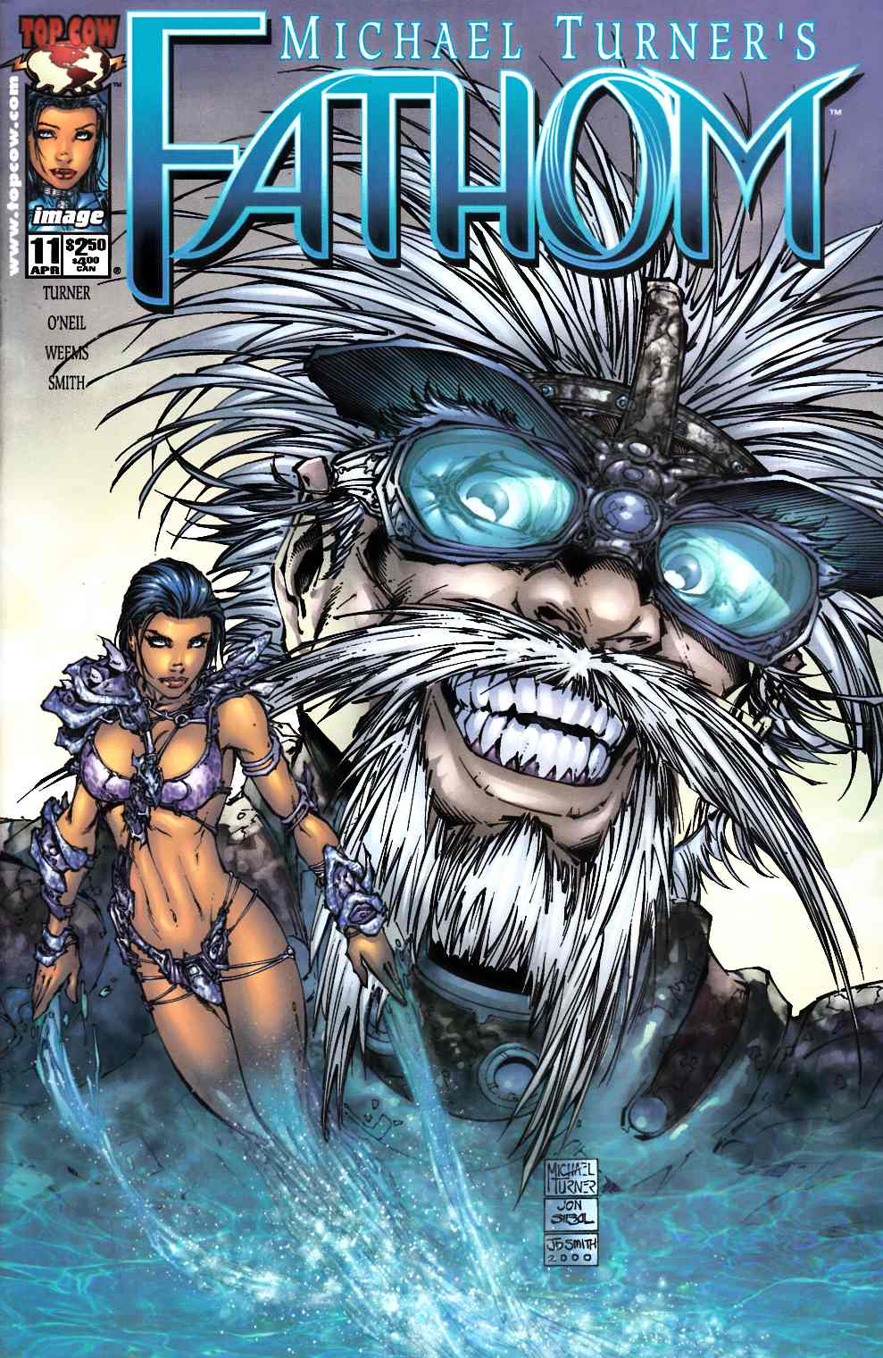 Fathom #11 Near Mint Minus (9.2) [Image Comic] THUMBNAIL