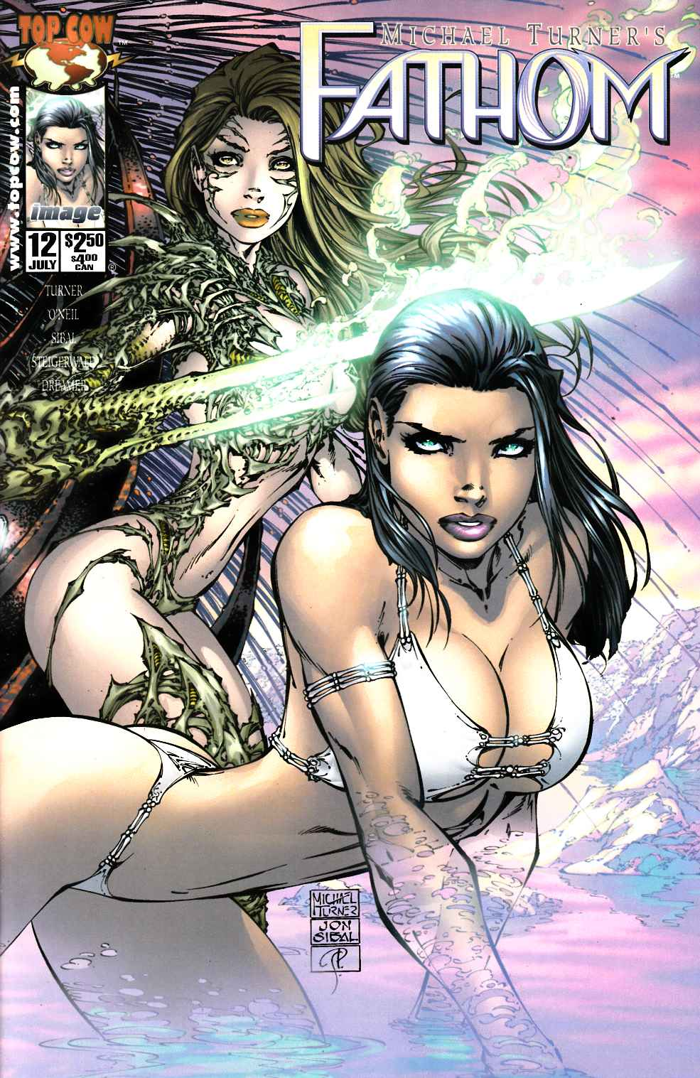 Fathom #12 Cover B Near Mint (9.4) [Image Comic] THUMBNAIL