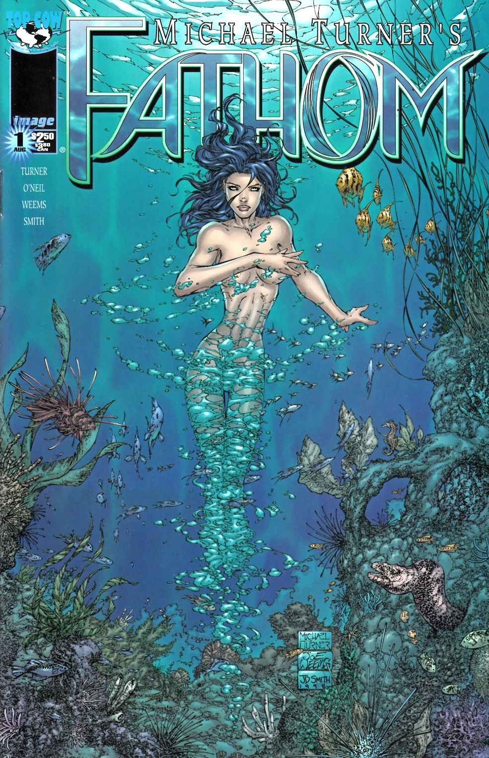 Fathom #1 Cover A Very Fine (8.0) [Image Comic] THUMBNAIL