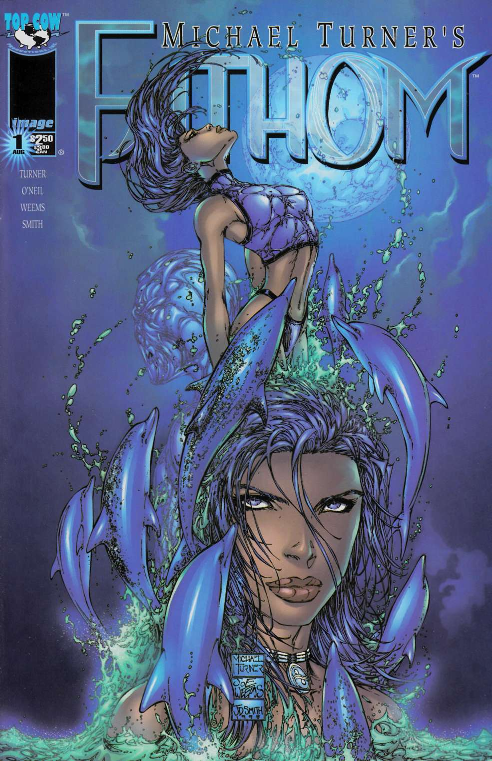 Fathom #1 Cover B Near Mint (9.4) [Image Comic] THUMBNAIL