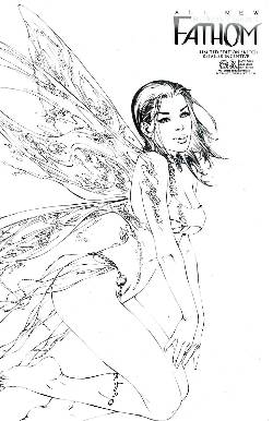 All New Fathom #3 Incentive Sketch Cover [Comic] LARGE